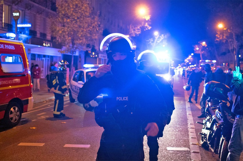 Paris Terror Attacks, November 13th 2016 - Islamic State claims responsibility for a series of mass shootings and suicide bombings that killed 128 people at least, in Le Bataclan Theatre, Le Stade de France and other locations. President Hollande declared a state of emergency – dvdbash.com